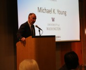 M Young at Annual Meeting